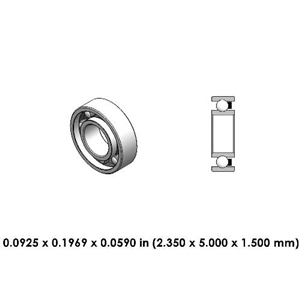 Dental Contra Angle Bearing - DR30A2L - For KaVo