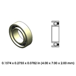Highspeed Contra Angle Bearing - DR32A2L-801 - For KaVo, W&H, Bien Air