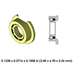 Highspeed Contra Angle Bearing - DR42Z2G-814 - For W&H WA-99 LT