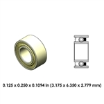 Dental Highspeed Ceramic Bearing - DR55B2G-801 - For Sirona & W&H