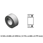 Dental Highspeed Bearing - DR55B2L - For W&H