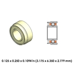 Dental Highspeed Ceramic Bearing - DR70B1L-801 - For KaVo and Siemens