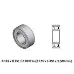 Dental Highspeed Bearing - DR73B3L - For Lares