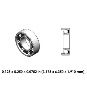 Dental Highspeed Bearing - DR74A3L - For Lares