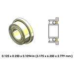 Dental Highspeed XTRA CERAMIC Bearing - DRM01S3C For Midwest, NSK, Kinetoc