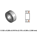 Dental Highspeed Bearing - DRM02B1G - For W&H