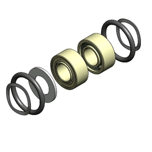 SureFix Ceramic Bearing Kit - HWH800-BKRC