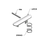 Midwest Shorty Attachment Latch Kit