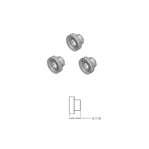 Bushing 3-Piece Set - LMW727