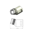 Star Motor-to-Angle Adapter Elbow