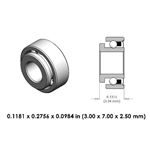 Dental Lowspeed Bearing - N057-000 - For KaVo
