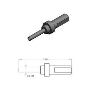 Hollow End Press Pin - TGT292