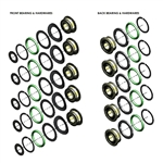 Star 430 / Solara / Star-Flex / Vista Push Button Ceramic Bearing Kit 5-Set ValuPak - VP823-BKRC-5