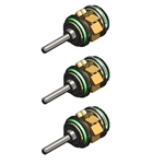 Star 430 / Vista / Solara / Star-Flex / Concentrix FX / SX / SW Lubricated Push Button Turbine Cartridge 3-Piece ValuPak - VP823-L6-3