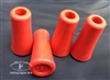 Small Red Rubber Blunts with Metal Insert - Set of 4