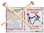 Gift Set: 2 Roundel Daggers & DVD German Dagger Fighting