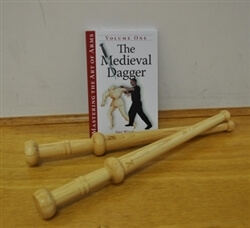 Gift Set: 2 Oak Roundel Daggers & The Medieval Dagger