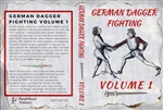 German Dagger Fighting, Vol 1,  DVD