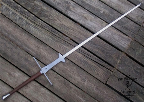 Marozzo Style Two-handed sword Feder Rev A