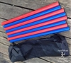 Judging Baton Set - Two Pairs of Blue and Two Red Batons w/Bag