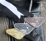 Cappo Ferro Tournament Medals Set - 1 Gold, 1 Silver, 1 Bronze w/Back Engraving