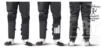 PBT Shin Guards for Full Protective Pants
