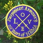 Purpleheart Armoury LOVE Patch 20 Years
