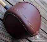 Singlestick Baskethilt Only - Stitched Leather