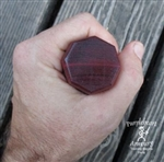 "Staff - Purpleheart - Octagon 1.5"" x 51.5"""
