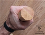 "Staff - Laminated Hickory - Octagon 1.5"" x 12"""