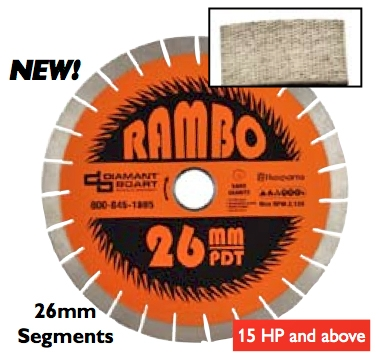 "Rambo 12"" up to 18"""