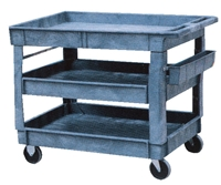 Structural Plastic Polisher's Cart