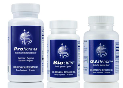 "BIOCLEARâ""¢ CLEANSING PROGRAM WITH BIOCIDIN@ CAPSULES"