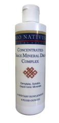 Concentrated Trace Mineral Drop Complex 4oz
