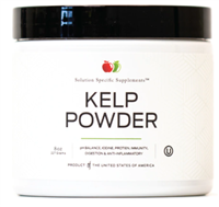 Organic Sea Kelp Powder - 8oz (227g) Bulk Thyroid Support Supplement