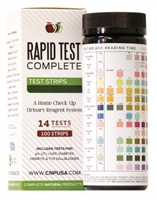RapidTest Complete - 100 strip bottle