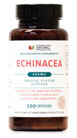 Echinacea Root Capsules Purpurea Powder Extract - 420mg