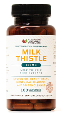 Pure Milk Thistle Seed Powder Extract - 150mg