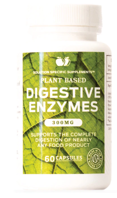 Plant Based Digestive Enzyme Supplements - 300mg Probiotic