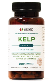 Raw Sea Kelp - 550mg Thyroid Support Supplement
