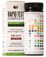 Rapid Test Complete - Urinalysis Test Strips 100ct UTI and pH Strips