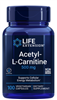 Acetyl-L-Carnitine (500 mg, 100 vegetarian capsules)