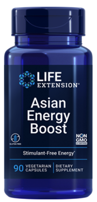 Asian Energy Boost (90 vegetarian capsules)