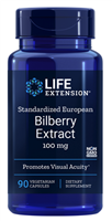 Standardized European Bilberry Extract (100 mg, 90 capsules)