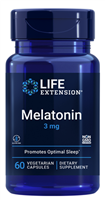 Melatonin (3mg, 60 vegetarian capsules)