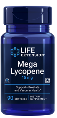 Mega Lycopene (15 mg, 90 softgels)