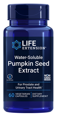 Water-Soluble Pumpkin Seed Extract (60 vegetarian capsules)