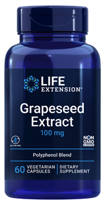 Grapeseed Extract (100 mg, 60 vegetarian capsules)