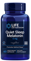 Quiet Sleep Melatonin (5 mg, 60 vegetarian capsules)