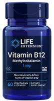 Vitamin B12 Methylcobalamin (1 mg, 60 vegetarian lozenges)